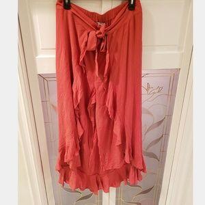 Brand New Women's AE Maxi Skirt w/ Pants Sz XL